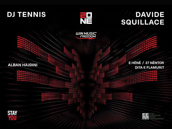 PARTY REVIEW: Independence Night with Dj Tennis, David Squillace, Alban Hajdini @ Zone Club, Prishtina, KS