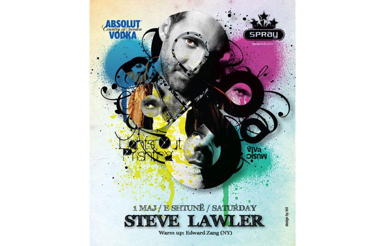 Steve Lawler @ Spray Club, Prishtina, Kosovo