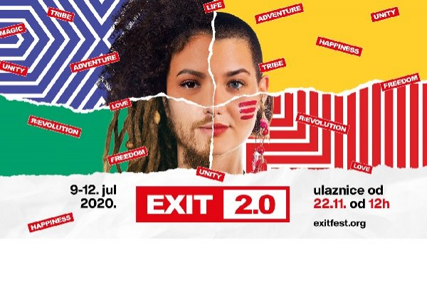 EXIT 2.0 starts a new festival era with a grand celebration of its 20th birthday